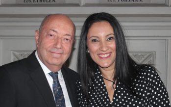 Большая галерея: Посол Дов Сегев-Стейнберг организовал в Финляндии торжественны приема и честь 69 -ой годовщины Израиля